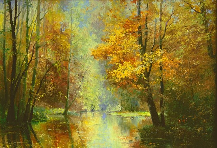 Autumn landscape (Jan Bartkevich)