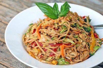 Spicy Peanut Thai Salad