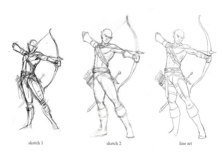 archery poses - Google Search
