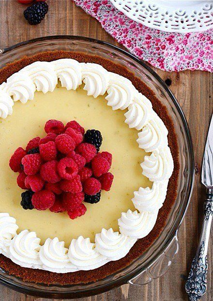 Classic key lime pie gets a sweet upgrade with a gingersnap crust. The smooth key lime filling pairs beautifully with the spicy gingersnaps and the addition of lime zest adds a brightness that makes it pop. Topped with whipped cream and fresh berries, this pie is sure to be a favorite in your house! Continue reading →