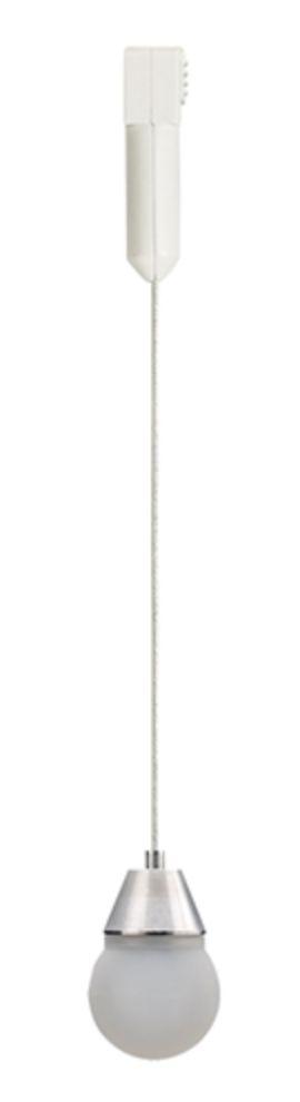 Juno Track Lighting TLPLED78-3K-WH Trac 12 Adjustable LED Pendant 78'' Cordset, White