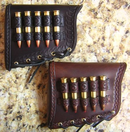 Custom Leather Buttstock Covers Hand Crafted By Lever