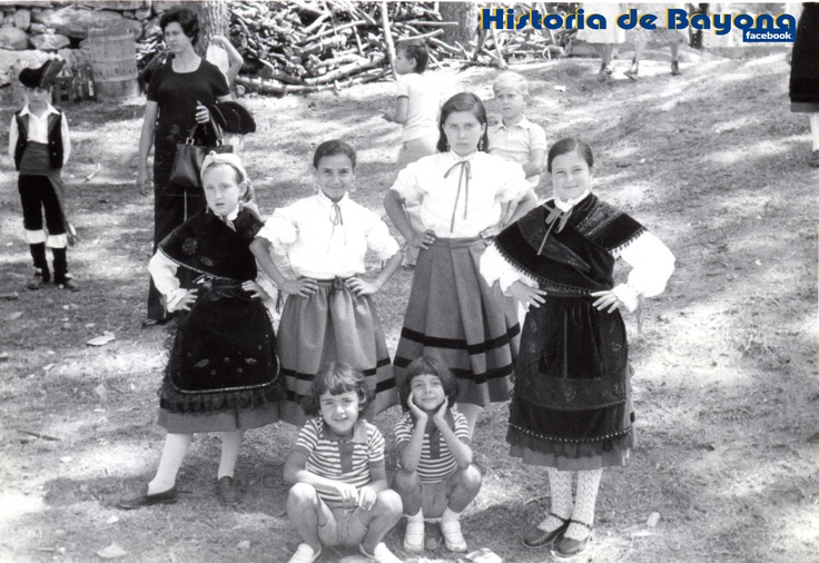 Virgen de La Roca, grupo de baile regional (Familia Vilar)
