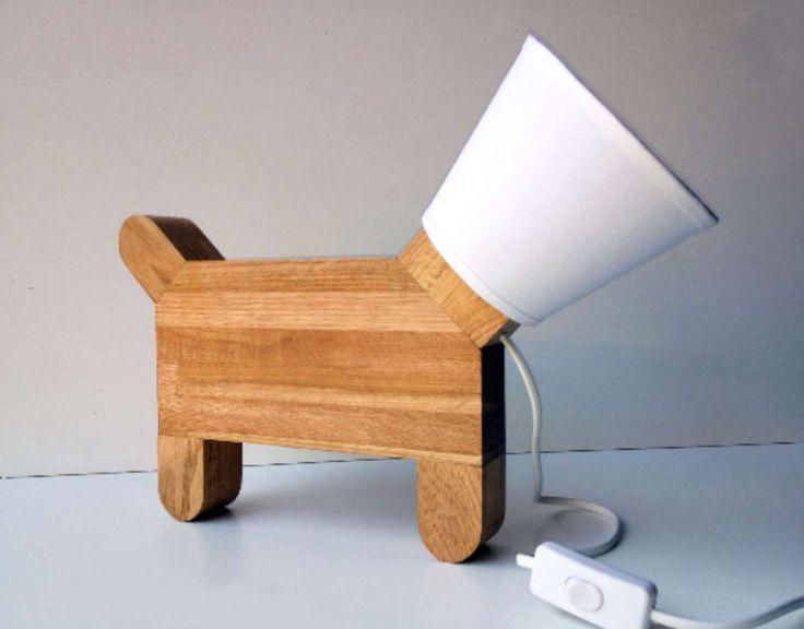 tutoriel pour fabriquer une petite lampe en bois inspir e de la collerette des chiens la. Black Bedroom Furniture Sets. Home Design Ideas
