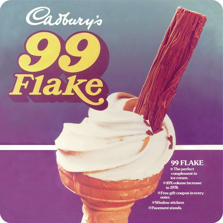cadburys 99...best ice cream ever.