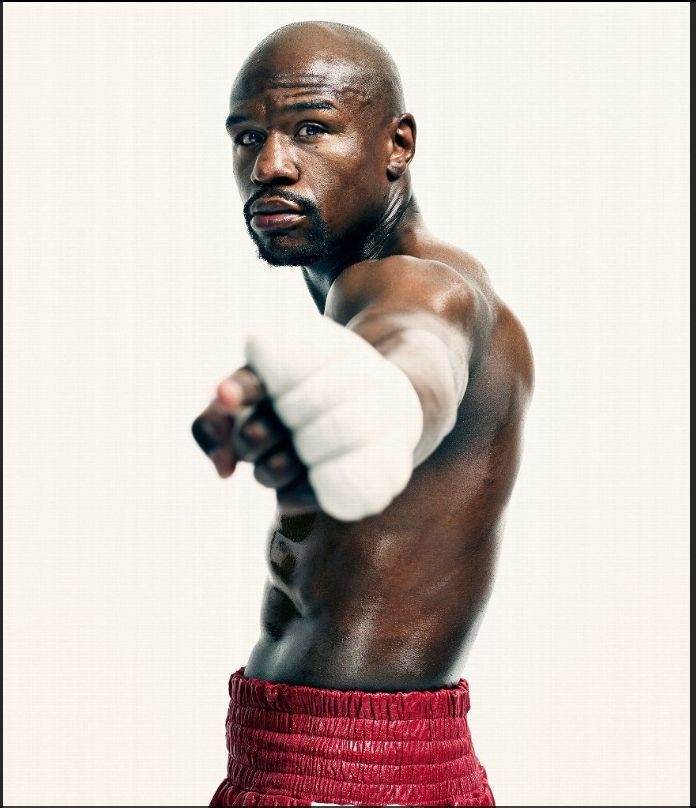 Floyd Mayweather Jr. - The best now but not the best ever.