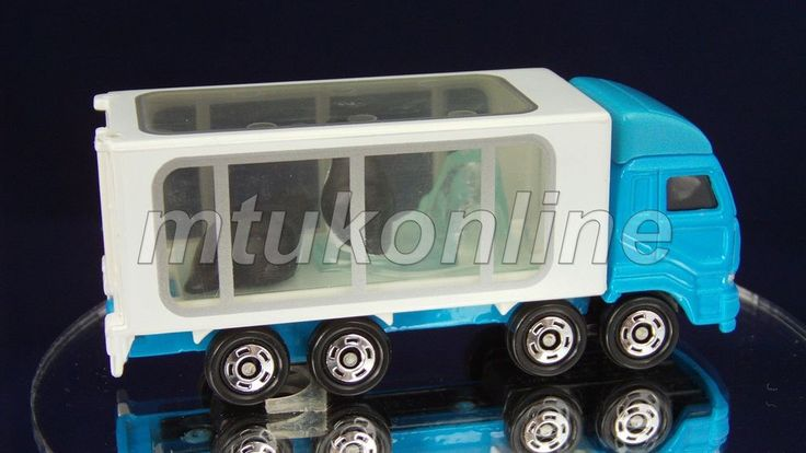 TOMICA 047E ANNIMAL CARRIER PENGUIN | CHINA | NISSAN DIESEL | 047E-01 | FIRST