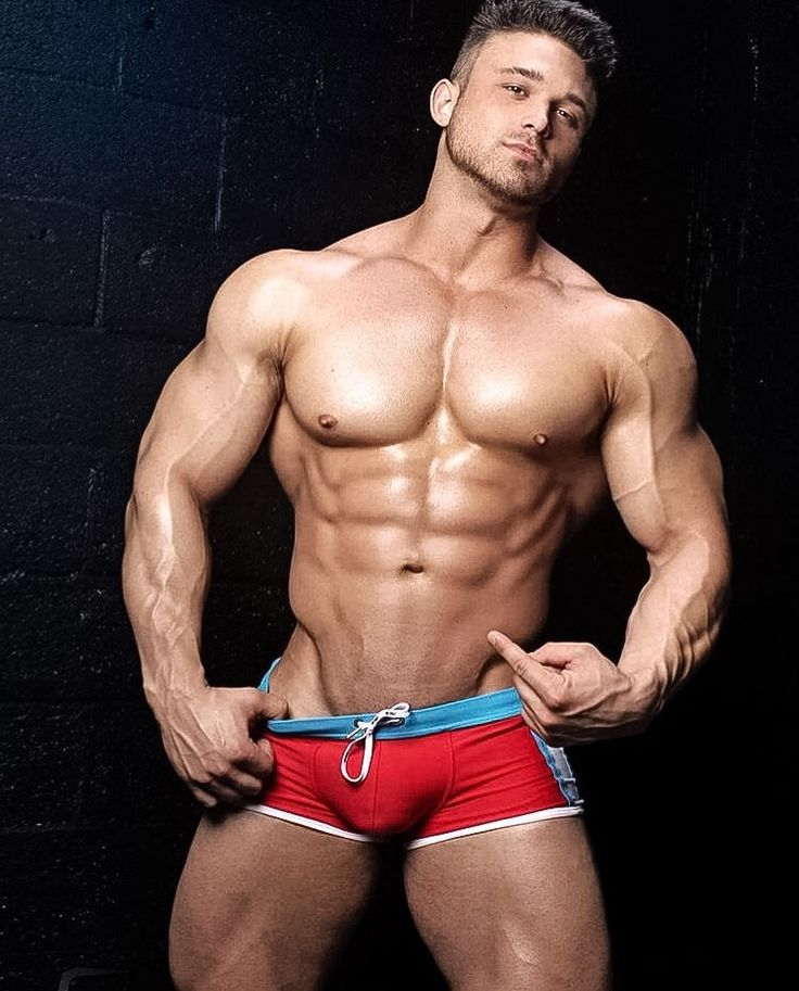 hot gay muscle hunk