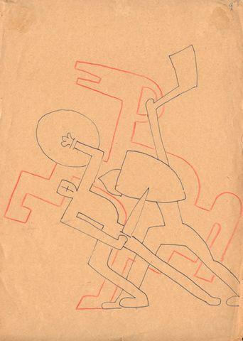 Сергей Эйзенштейн Рисунок из серии «Мысли о музыке». 1938 год | Arzamas
