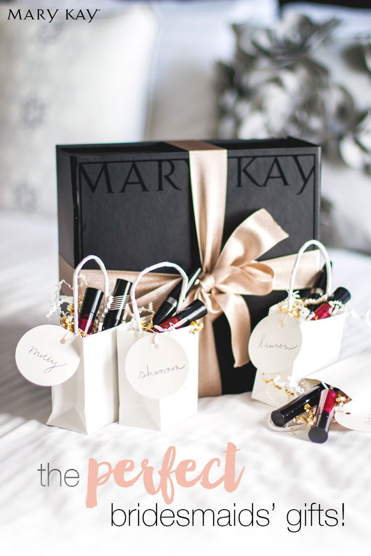 Gorgeous gifts for beautiful bridesmaids! Show your favorite ladies how much you appreciate them being by your side on your special day with perfect purse-ready lip glosses they can throw in their clutch, ready to rock the reception. | Mary Kay http://www.marykay.com/lisabarber68 Call or text 386-303-2400 or 832-823-1123