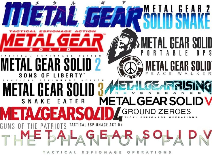 METAL GEAR SOLID METAL GEAR メタルギア メタルギアソリッド メタルギアライジング ロゴ
