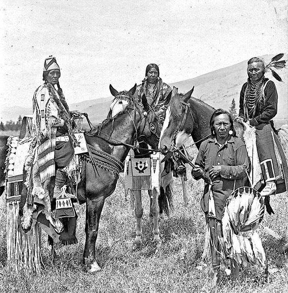 Montana Native Plants: Salish Group. Early 1900s. Montana. Photo By N.A. Forsyth