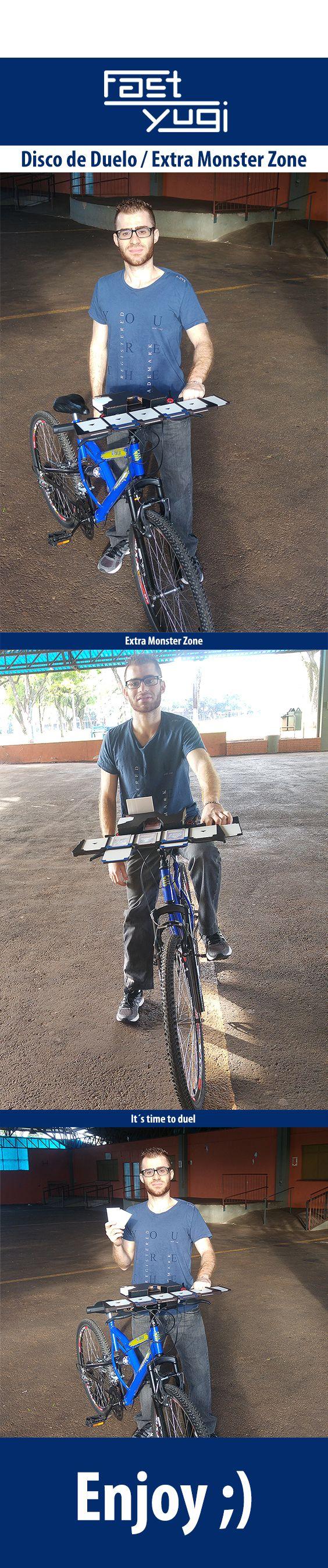 Duel Disk in the Bike  MDF 3 mm -   Download:  https://drive.google.com/file/d/1E-FSXhWpwAAGLSY-ZK6gvDCZyxpN1jCR/view