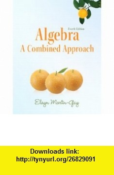 Pdf books 8 pinterest lemony snicket algebra a combined approach 4th edition martin gay developmental math series fandeluxe Image collections