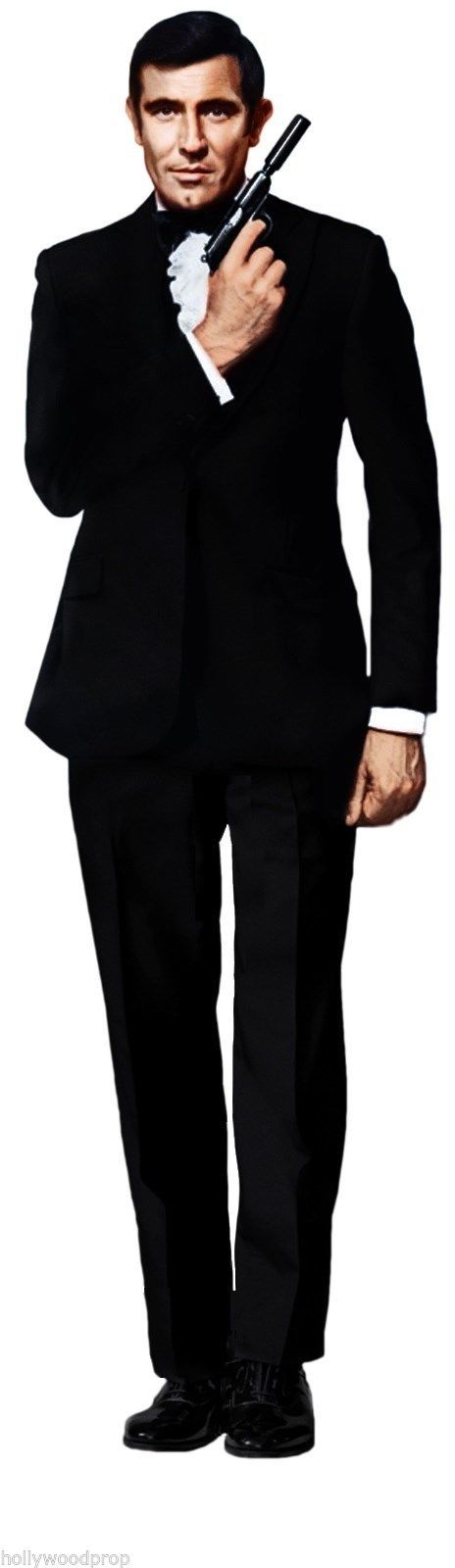 George Lazenby James Bond 007 Lifesize Cardboard Standup Standee ...