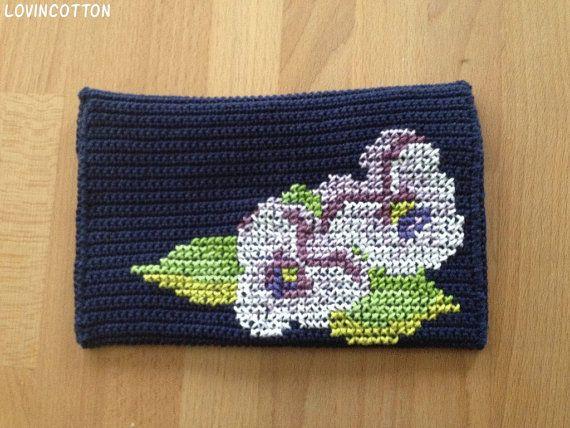 Kobo Touch Ereader hoes  viooltjes van Lovincotton op Etsy, €15.00