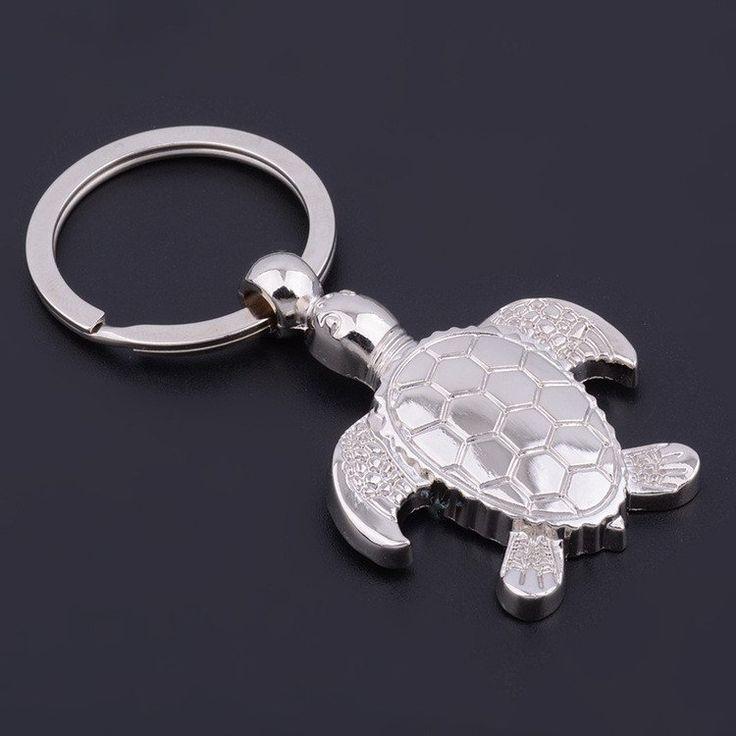 Pendant Keyring Turtle Charm