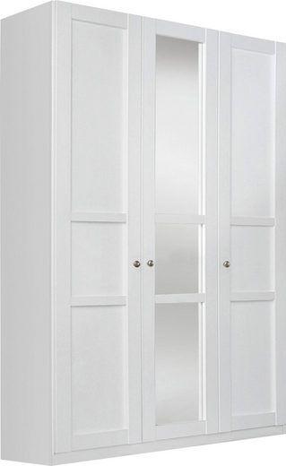 Elegant rauch SELECT Kleiderschrank mit Spiegel