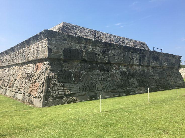 Pirámide de la serpiente emplumada, Xochicalco, Morelos