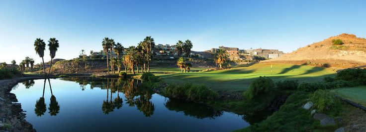 Salobre Golf South. Designed by Roland Favre, Salobre Sur has been cleverly designed to make typical valleys canyons of southern Gran Canaria, offering our visitors magnificent views of the sea and mountains. With its varied and fun course is a must for golf players of all levels.