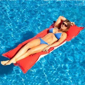 Kai Infinity Pool Lounge Float for $129.95 #PoolFloats #CozyDays