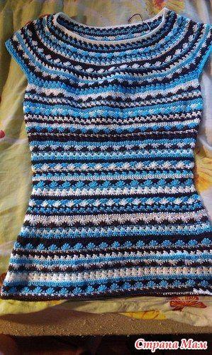 Платье от Ванессы Монторо вяжем вместе! - Вяжем вместе он-лайн - Страна Мам