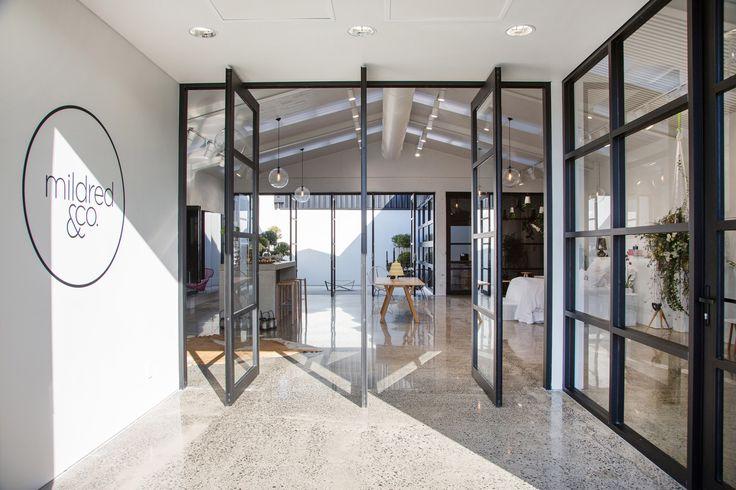 Mildred & Co / Jose Gutierrez #shop #interior #door