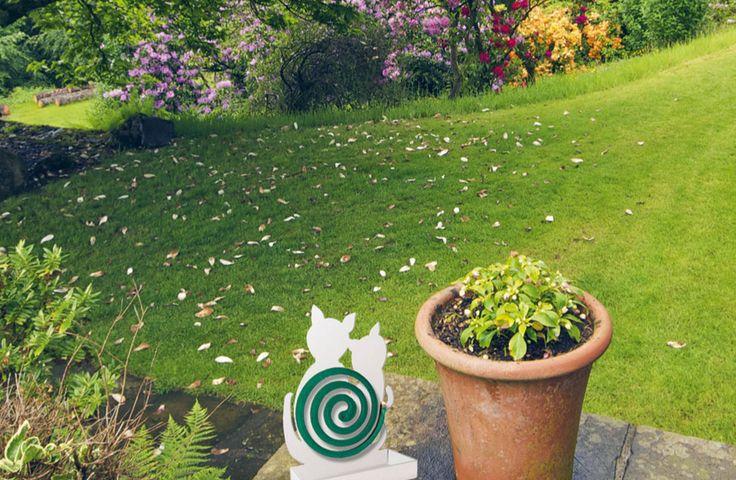 MIAtwist: il porta zampirone per il tuo giardino! #arredo #casa #giardino #gatti