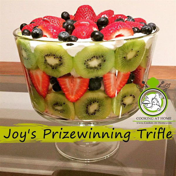 Joy's Prizewinning Trifle Recipe — Dishmaps