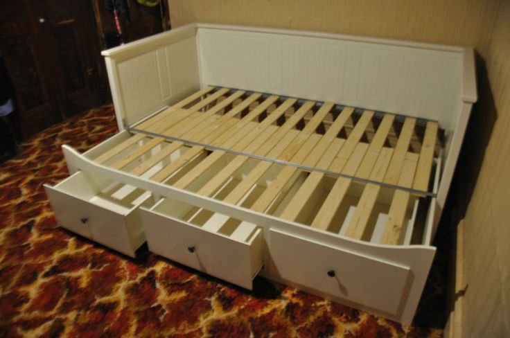 ikea day bed frame | IKEA HEMNES Day-bed/Sofa/Trundle Single to Double, 3 drawers Excellent ...