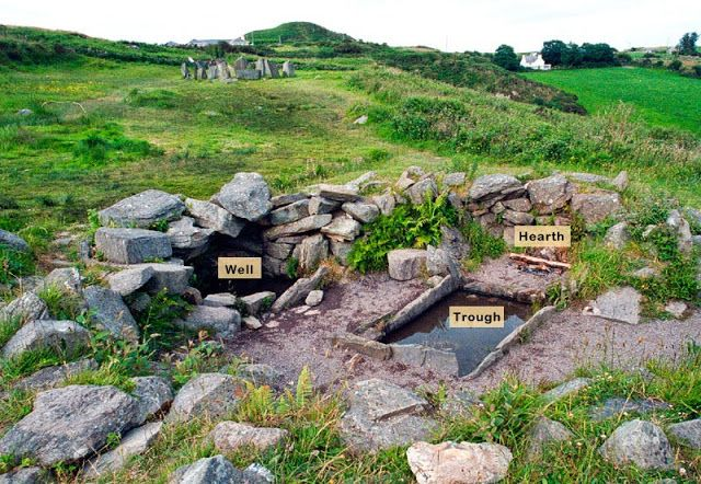 Old European culture: Fulacht fiadh - a cooking pit?