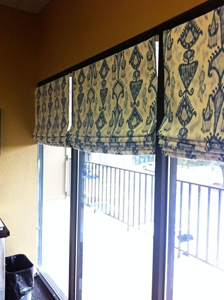How To Make Lined Roman Shades With Mini Blinds Diy