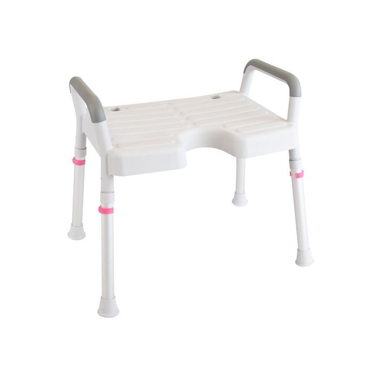 Nielsen shower stool is made from all rust-proof materials.