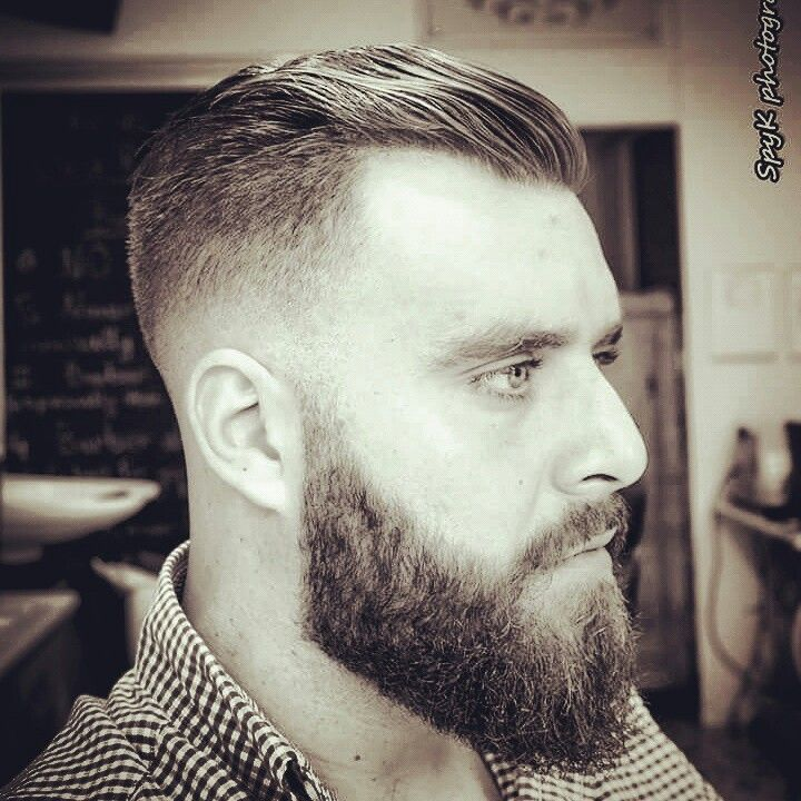 Razor fade.....For beard boy!