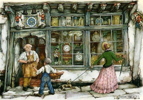 The Watchmaker's Shop- Pieck