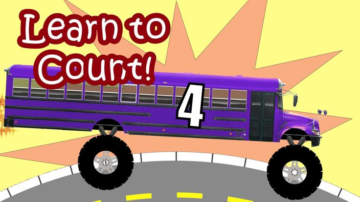 Monster Trucks School Buses for Children - Teaching Colors  #Monster #Truck #Video #Education This animated monster truck video for kids, children, preschoolers, toddlers, and babies features Monster Trucks.