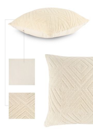 Textured Weave 60x60cm Scatter Cushion
