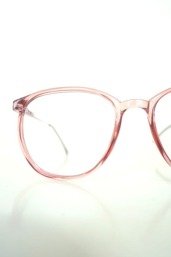 3c18dea5d6f Cute in cranberry, these singular (super rare shade!) adorable 1980s round  optical frames are in NOS (new old stock) condition and have never been  worn or ...