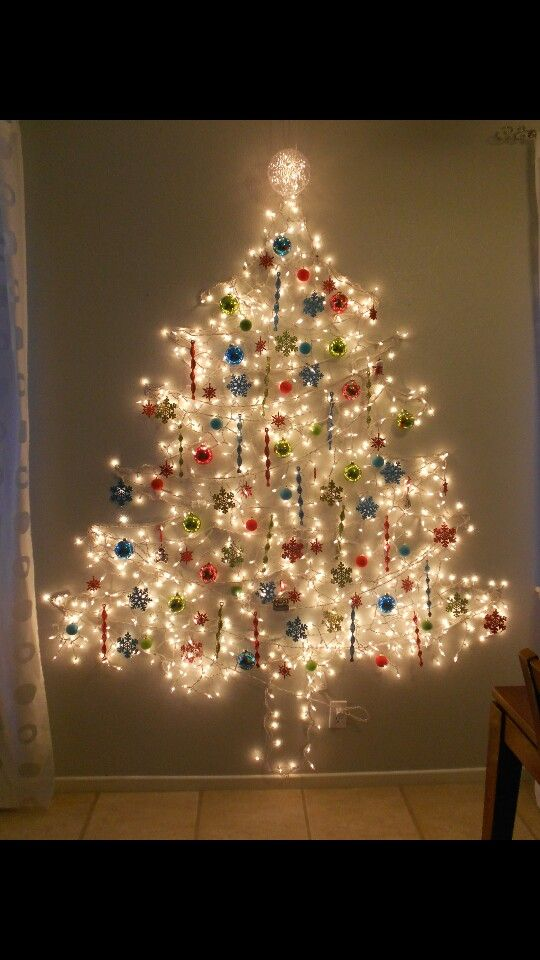 Another Gorgeous Wall Tree Arbol De Navidad Pared 193 Rbol