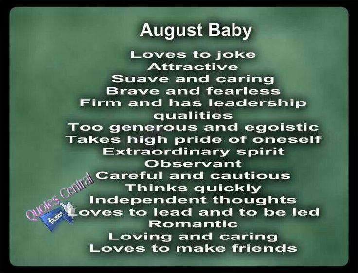 August baby and babies on pinterest