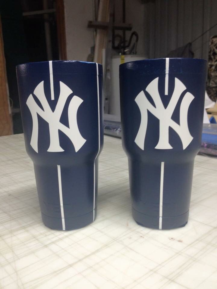 New York Yankee 30oz Yeti Cup Lonestar Concepts Amp Designs