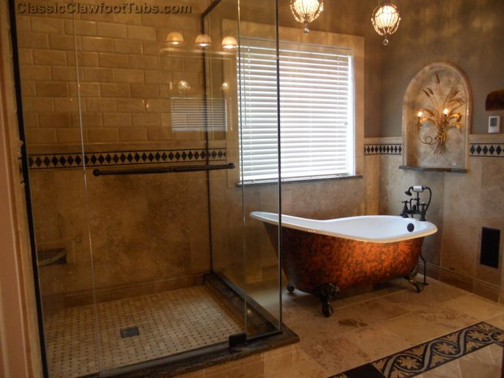 Bathroom Decorating Ideas With Clawfoot Tub 168 best high back baths images on pinterest | room, dream