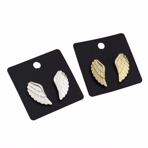 2015 мода золото / посеребренные ангельские крылья серьгу подарок девушки дети авф 2016 бесплатная доставка купить на AliExpress