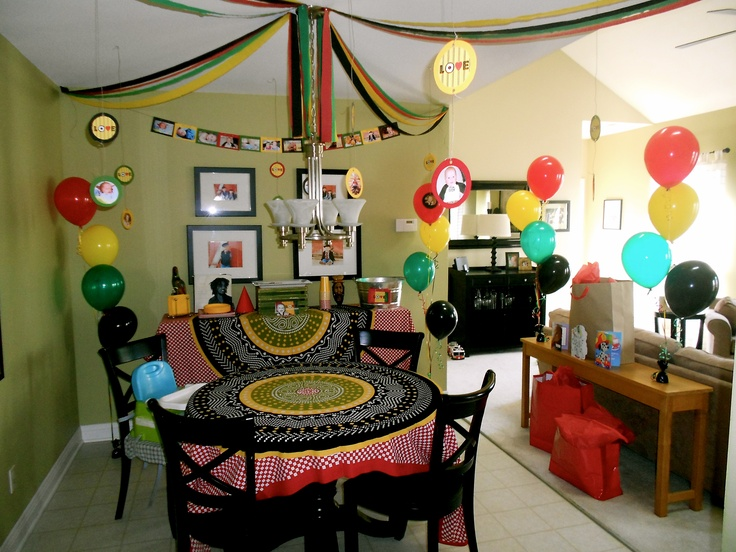 "One Year ""One Love"" Birthday Party"