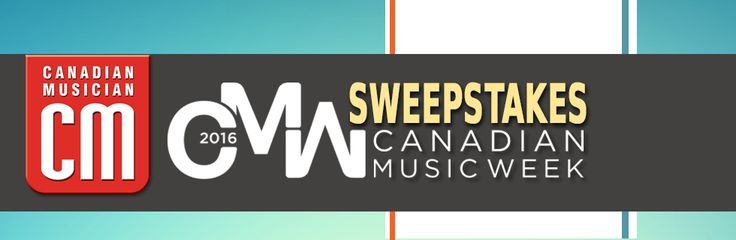 Canadian Musician is giving you the chance to WIN YOUR WAY TO CANADIAN MUSIC WEEK in Toronto, ON May 2-8, 2016. Enter now @ http://www.canadianmusician.com/sweepstakes/ or http://wshe.es/VoSt8IiV