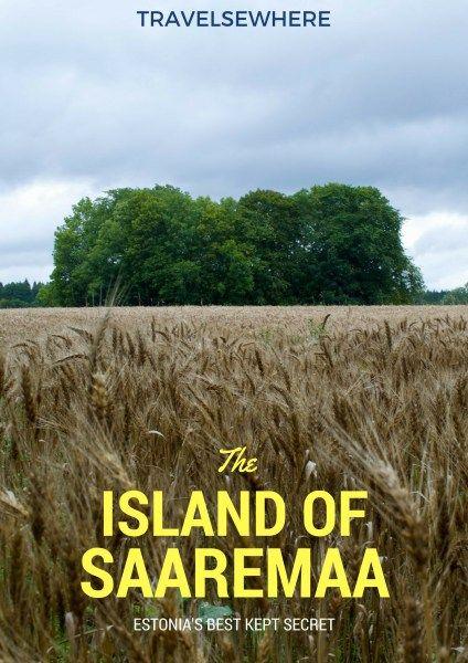 Estonia's Best Kept Secret, the Island of Saaremaa via @travelsewhere