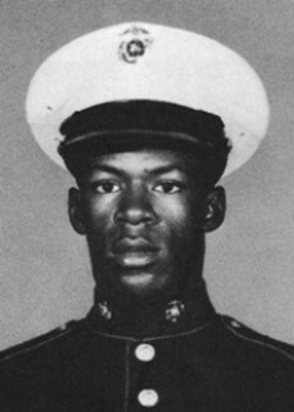 MARVIN RAY COLE   PFC - E2 - Marine Corps - Regular  Length of service 0 years Casualty was on Feb 21, 1967 In QUANG NGAI, SOUTH VIETNAM HOSTILE, GROUND CASUALTY GUN, SMALL ARMS FIRE Body was recovered   Panel 15E - Line 68   Age: 	19 Race: 	Negro Sex: 	Male Date of Birth 	Nov 5, 1947 From: 	FT SMITH, AR Religion: 	PROTESTANT Marital Status: 	Single