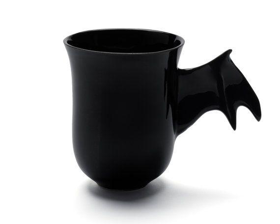 Hey, I found this really awesome Etsy listing at https://www.etsy.com/listing/187726811/ceramic-mug-bat-mug-halloween-mug-bat