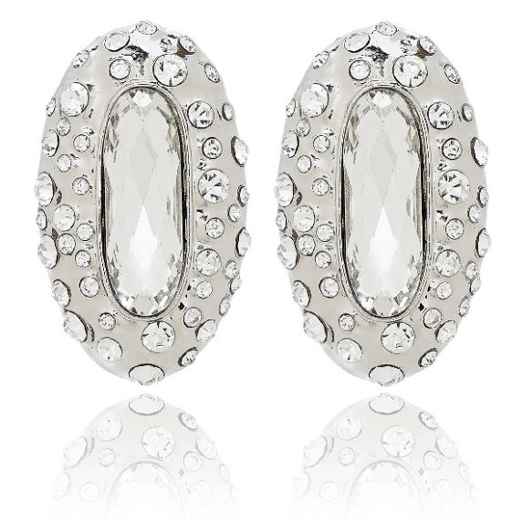 Marquis Silver Earrings available at www.stellanemiro.com