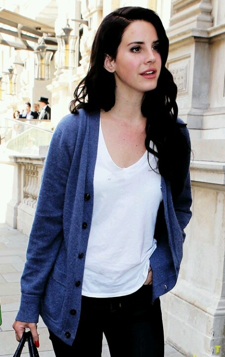 Lana Del Rey. i love her simple and classic style. she never looks like she's trying too hard.